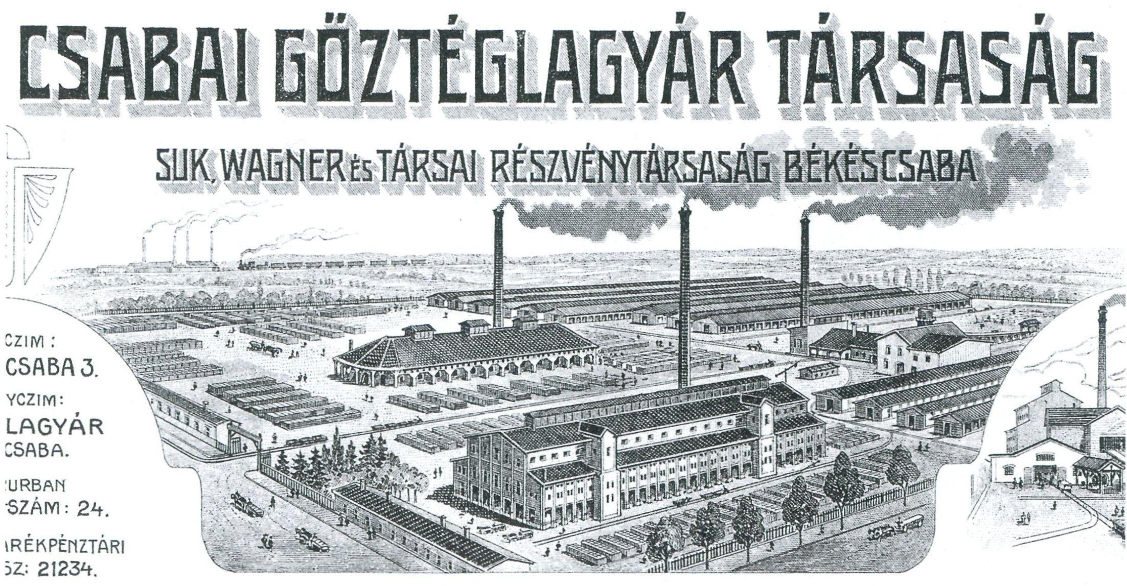 Csabai Gőztéglagyár Társaság