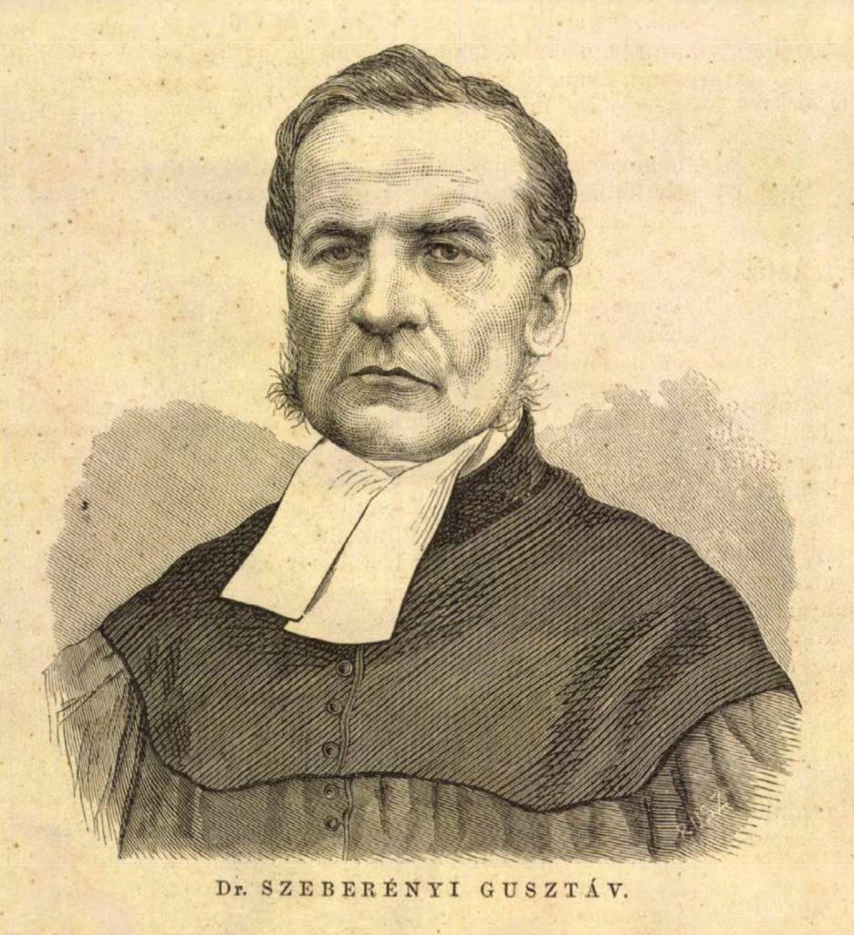 Dr. Szeberényi Gusztáv arcképe