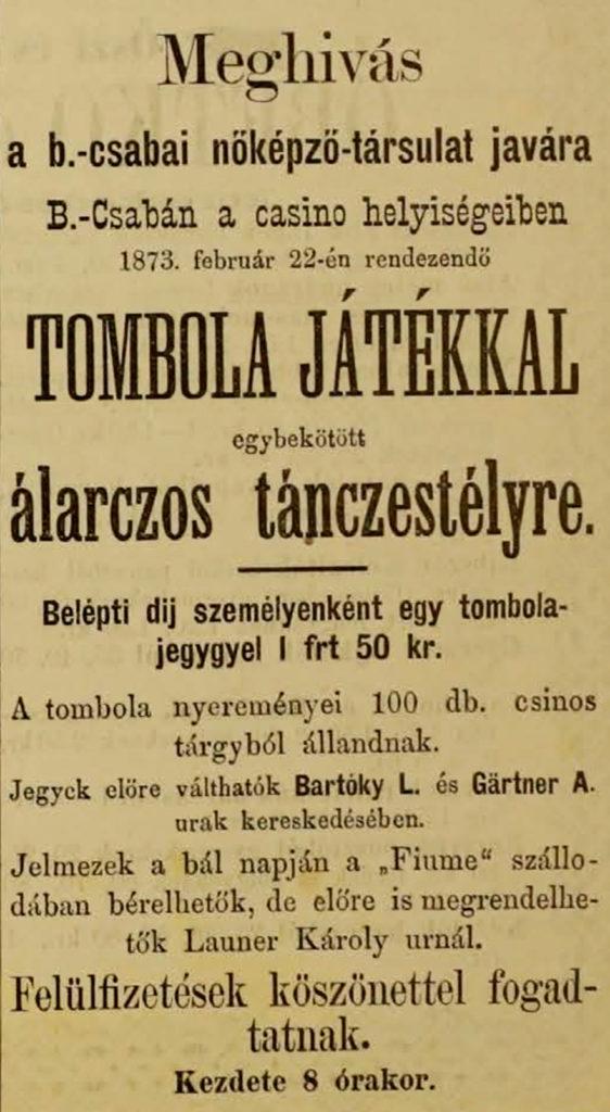 Álarcos táncestély (1873)