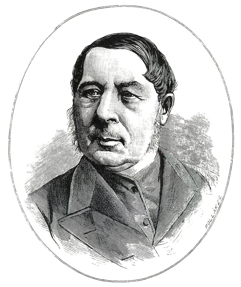 Haan Lajos portréja