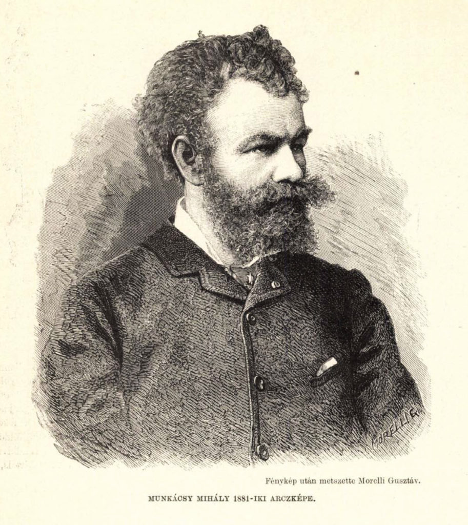 Munkácsy Mihály arcképe (1881)