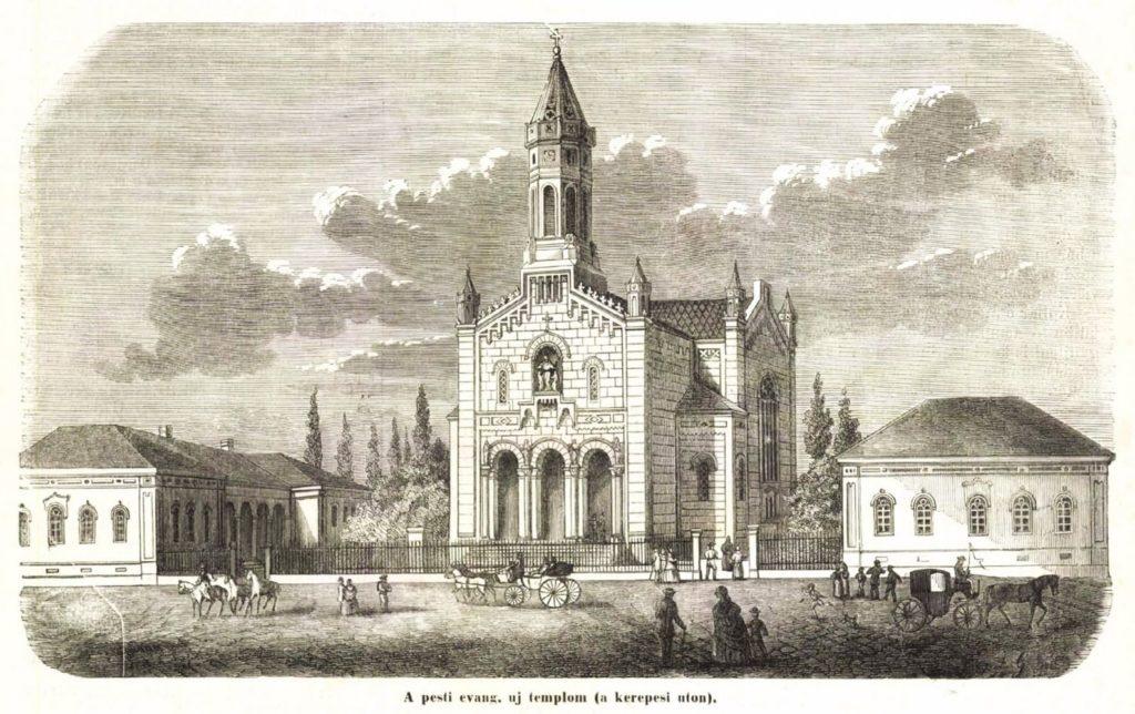 A pesti evangélikus templom