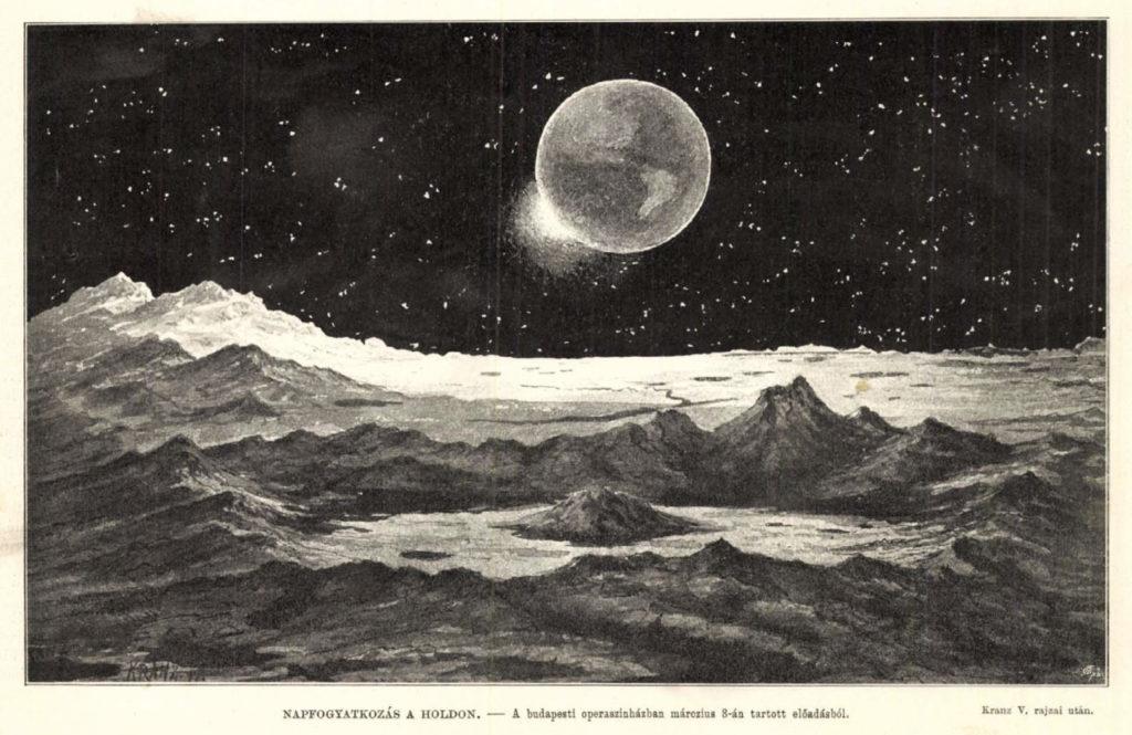 Napfogyatkozás a Holdon