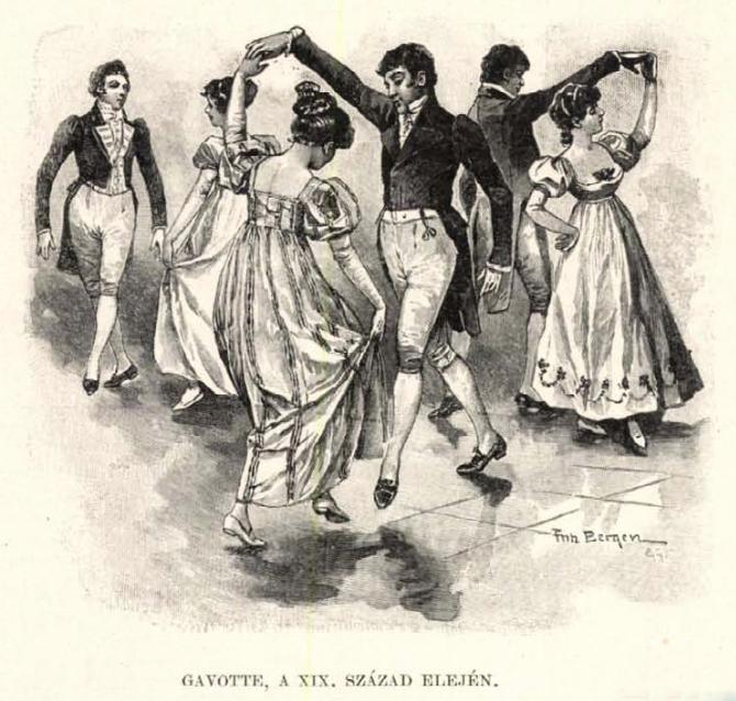 Gavotte tánc