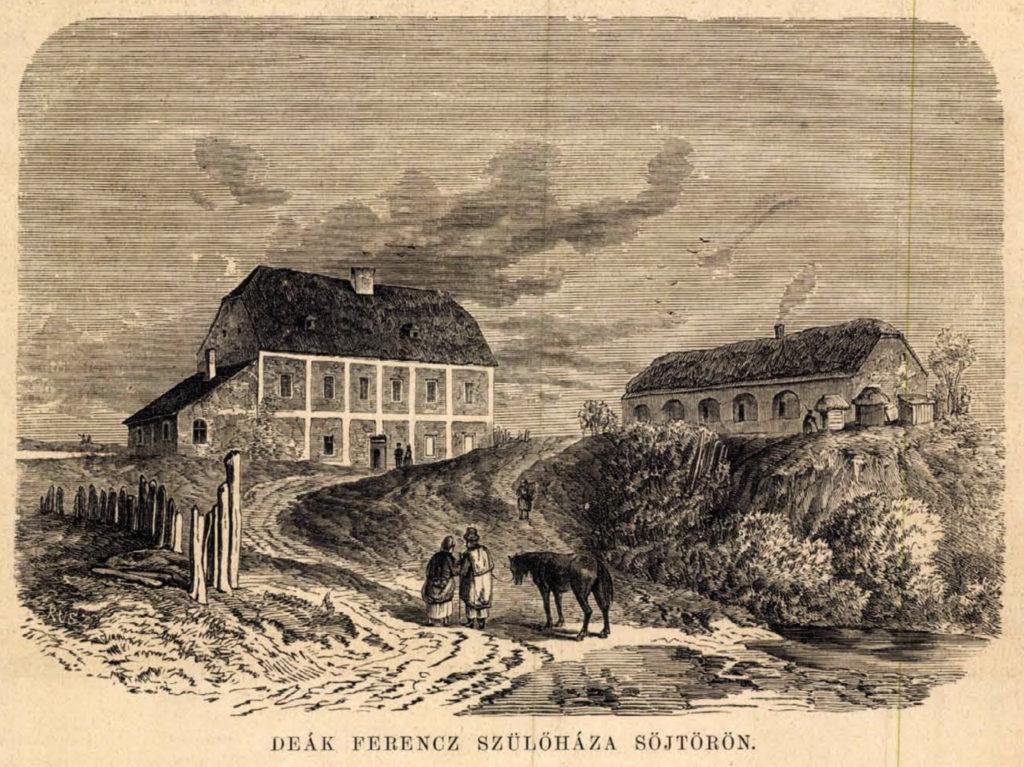 Deák Ferenc szülőháza Söjtörön