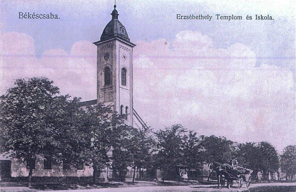 Erzsébethelyi templom