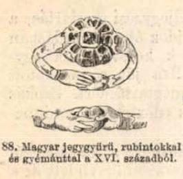 16. századi magyar jegygyűrű
