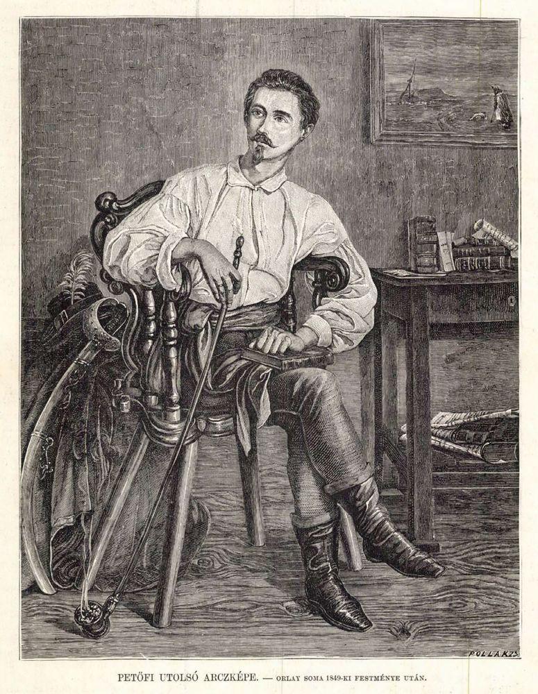 Petőfi Sándor utolsó arcképe