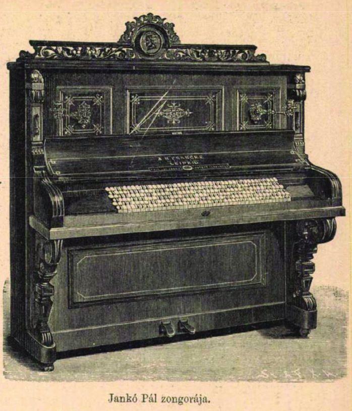 Jankó Pál zongorája