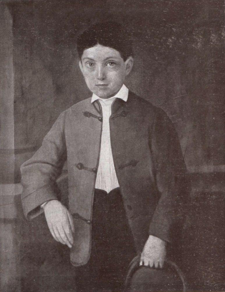 Petőfi Sándor állítólagos arcképe 12 éves korában
