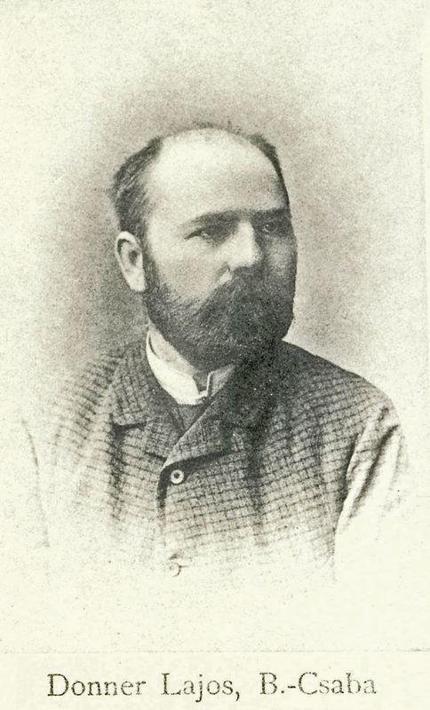 Donner Lajos portréja