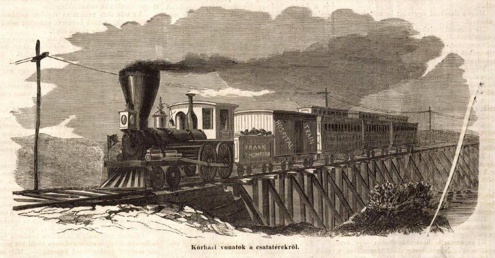 Kórházi vonat