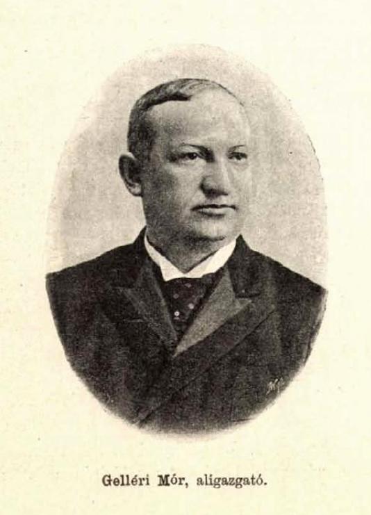 Gelléri Mór portréja