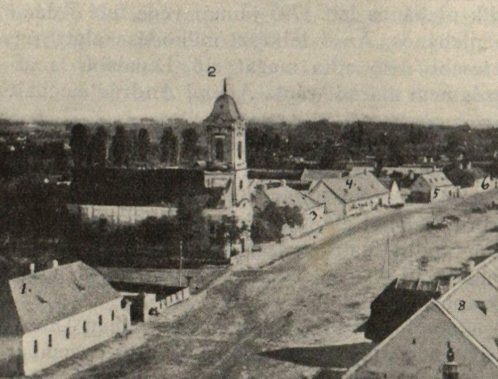 A régi római katolikus templom Békéscsabán